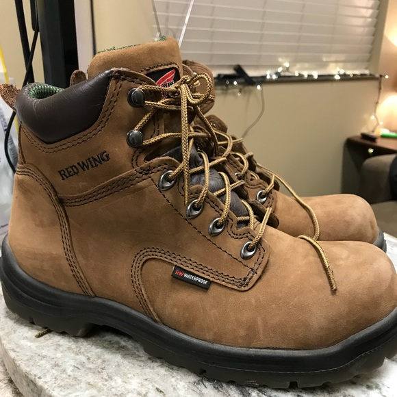 Red Wing King Toe Mens Work Boots